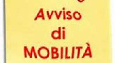 """AVVISO PUBBLICO ESPLORATIVO PER L'ACQUISIZIONE E VALUTAZIONE DI DOMANDE DI MOBILITÀ, AI SENSI DELL'ARTICOLO 30 DEL D.LGS 165/2001, PER L'EVENTUALE COPERTURA DI N. 01 POSTO A TEMPO INDETERMINATO DI """"ISTRUTTORE AMMINISTRATIVO -"""" – CATEGORIA C."""