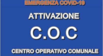 ORDINANZA SINDACALE n. 42 del 18-10-2020 Attivazione C.O.C.