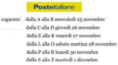 Poste Italiane: pensioni mese Dicembre 2020