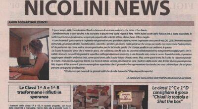 """COMPLIMENTI ai nostri studenti dell'I.C. """"G. Nicolini"""""""